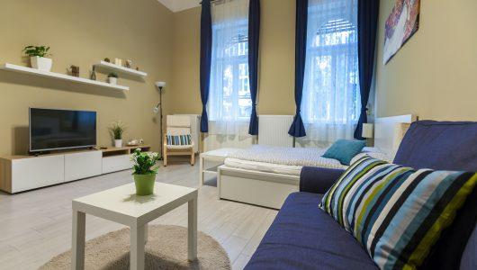 One-bedroom, 1088 Budapest Szentkirályi utca 49.